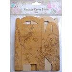 Little Birdie Crafts - Vintage Map Collection - Gift Box - Gable - Medium