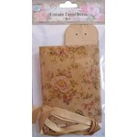 Little Birdie Crafts - Vintage Floral Collection - Gift Box - Triangle - Large