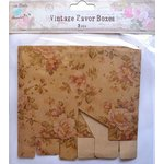 Little Birdie Crafts - Vintage Floral Collection - Gift Box - Square - Large