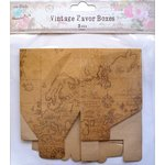 Little Birdie Crafts - Vintage Map Collection - Gift Box - Square - Large