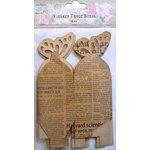 Little Birdie Crafts - Newsprint Collection - Gift Box - Butterfly - Medium