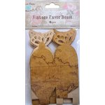 Little Birdie Crafts - Vintage Map Collection - Gift Box - Butterfly - Small