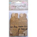 Little Birdie Crafts - Newsprint Collection - Gift Box - Petal - Small
