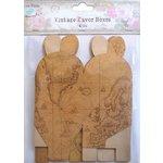 Little Birdie Crafts - Vintage Map Collection - Gift Box - Petal - Medium