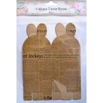 Little Birdie Crafts - Newsprint Collection - Gift Box - Petal - Large