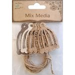 Little Birdie Crafts - Mix Media Collection - Bird Cage with Twine