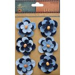 Little Birdie Crafts - Denim Collection - Ornamental Blooms