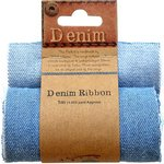 Little Birdie Crafts - Denim Collection - Fabric Roll - Stone Wash