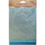 Little Birdie Crafts - Boutique Elements Collection - Glitter Sheets - Blue