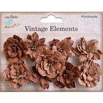 Little Birdie Crafts - Vellum Elements Collection - Serenade Blooms - Terracotta