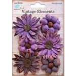Little Birdie Crafts - Vellum Elements Collection - Phoebe Petals - Grape Crush