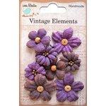 Little Birdie Crafts - Vellum Elements Collection - Rhea Petals - Grape Crush