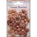 Little Birdie Crafts - Vellum Elements Collection - Rhea Petals - Terracotta