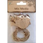Little Birdie Crafts - Mix Media Collection - Bird with Twine