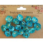 Little Birdie Crafts - Boutique Elements Collection - Embossed Daisies - Blue