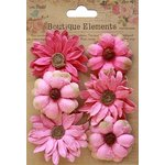 Little Birdie Crafts - Boutique Elements Collection - Phoebe Petals - Strawberry Fields