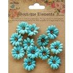 Little Birdie Crafts - Boutique Elements Collection - Petite Daisies - Blue