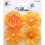 Little Birdie Crafts - Vellum Elements Collection - Camden Cottage - Lemon