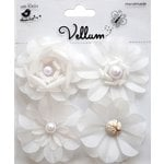 Little Birdie Crafts - Vellum Elements Collection - Camden Cottage - White