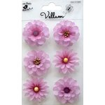 Little Birdie Crafts - Vellum Elements Collection - Boutique Flowers - Lilac