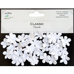 Little Birdie Crafts - Classic Elements Collection - Pearl Petites - White