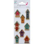 Little Birdie Crafts - Expressions Collection - Kraft Printed House