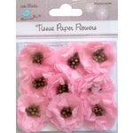 Little Birdie Crafts - Tissue Paper Flowers Collection - Pollen Blooms - Pink