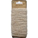 Little Birdie Crafts - Mix Media Collection - Jute Yarn - Flat - Natural