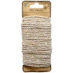 Little Birdie Crafts - Mix Media Collection - Jute Yarn - Round - Natural