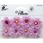 Little Birdie Crafts - Vellum Elements Collection - Serenade Blooms - Lilac