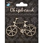 Little Birdie Crafts - Chipboard Pieces - Bicycle