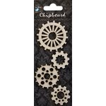 Little Birdie Crafts - Chipboard Pieces - Cogs