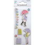 Little Birdie Crafts - Mini Embellishments - Mom-To-Be