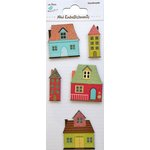 Little Birdie Crafts - Mini Embellishments - House