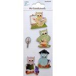 Little Birdie Crafts - Mini Embellishments - Graduation Owls