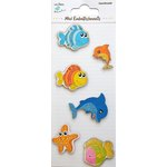 Little Birdie Crafts - Mini Embellishments - Fish