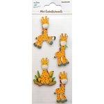 Little Birdie Crafts - Mini Embellishments - Giraffe