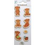 Little Birdie Crafts - Mini Embellishments - Teddy