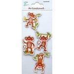 Little Birdie Crafts - Mini Embellishments - Monkey