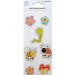 Little Birdie Crafts - Mini Embellishments - Flowers and Bees