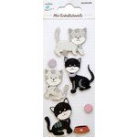 Little Birdie Crafts - Mini Embellishments - Kittens