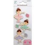 Little Birdie Crafts - Mini Embellishments - Ballerinas