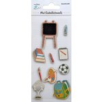 Little Birdie Crafts - Mini Embellishments - Back to School