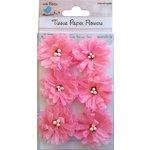 Little Birdie Crafts - Tissue Paper Flowers Collection - Sun Flower - Pink