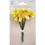 Little Birdie Crafts - Handmade Creation Collection - Mini Lily Flower - Yellows