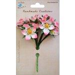 Little Birdie Crafts - Handmade Creation Collection - Strawberry Flower - Pinks