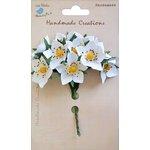 Little Birdie Crafts - Handmade Creation Collection - Strawberry Flower - Whites