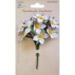 Little Birdie Crafts - Handmade Creation Collection - Strawberry Flower - Purples
