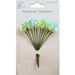 Little Birdie Crafts - Handmade Creation Collection - Calla Lily Flower - Blue