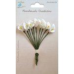 Little Birdie Crafts - Handmade Creation Collection - Calla Lily Flower - White